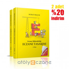 Eczane Mühendisliği / Eczane Tasarımı / Murat Selçuk - 2 Adet
